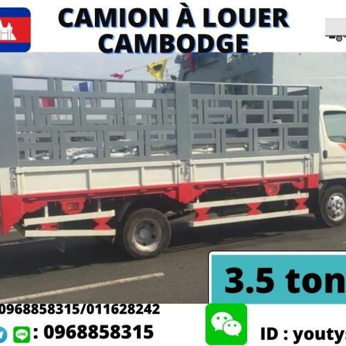 camion à louer cambodge